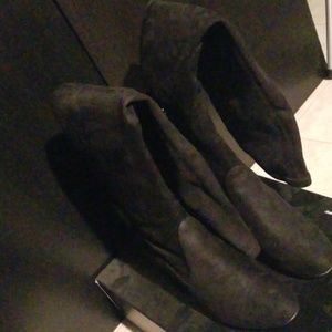 Boots- Suede